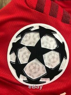 Bayern Munich UEFA Chamoipns League match worn / issued shirt soccer jersey
