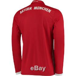 Bayern Munich adidas 2016/17 Home Long Sleeve Jersey International Clubs