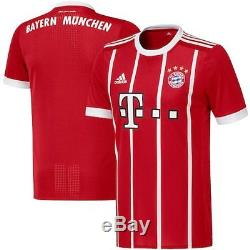 Bayern Munich adidas 2017/18 Home Authentic Jersey Red