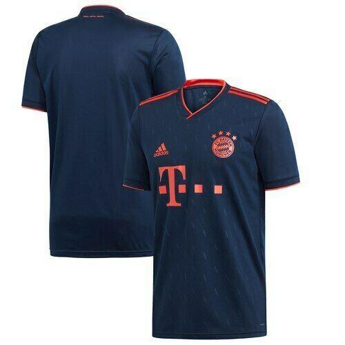Bayern Munich Adidas Blue 2019/20 Third Replica Jersey