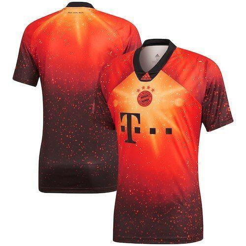 Bayern Munich Adidas Club Ea Jersey Red