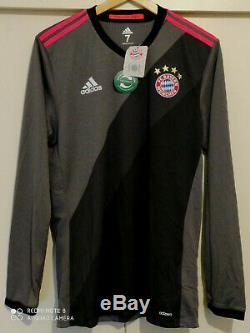 Bayern Munich adidas MATCH ISSUE (M) adizero Football Shirt LS Soccer Jersey