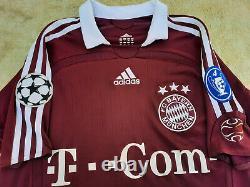 Bayern Munich jersey vtg 11 podolski 2006 adidas shirt football rare M