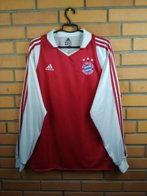 Bayern Munich Player Issue Jersey Xl 2004 2005 Long Sleeve Shirt Soccer Adidas