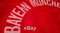 Bayern munchen 1989-1990 football shirt vintage adidas trikot jersey maillot L