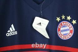 Bnwt Bayern Munich Munchen 2017 2018 Away Jersey Shirt Player Issue Trikot