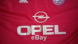Camiseta Shirt Jersey Maglia Maillot Trikot Adidas Bayern München Munich Vintage