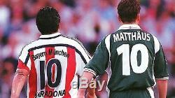Diego Maradona Bayern Munich 2005 06 Home Football Jersey Soccer Trikot Shirt M