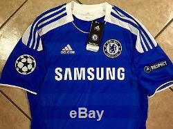 England Chelsea Football Shirt Lampard Jersey Authentic Final Bayern Munich