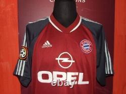 Elber 2001/2002 Bayern Munchen Maglia Shirt Calcio Football Maillot Jersey