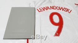 Euro 2016 Poland Squad Hand Signed Shirt Jersey + COA, Lewandowski Bayern Munich