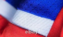 Fc Bayern Munich (xl, L) 2014/15 Blue/red Adidas S/s Soccer Football Shirt Jersey