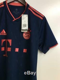 FC BAYERN Munich THIRD JERSEY Navy Adidas Men's DW7411