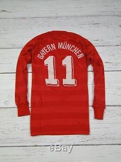 FC Bayern Munchen COMMODORE Trikot 80er Jersey RARE Vintage West Germany Size S