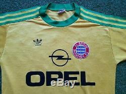 FC Bayern München Camiseta S 1989 1990 Adidas Munich Fútbol Camiseta Jersey Opel
