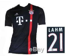 FC Bayern München Jersey 3rd 2014/15 Adidas Shirt Philipp Lahm M Soccer
