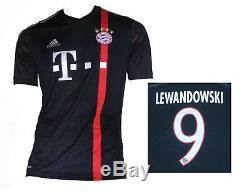 FC Bayern München Jersey 3rd 2014/15 Adidas Shirt Robert Lewandowski L Soccer