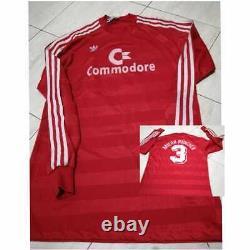 FC Bayern München Shirt Saison 1985/86 Adidas jersey shirt COMMODORE Camiseta