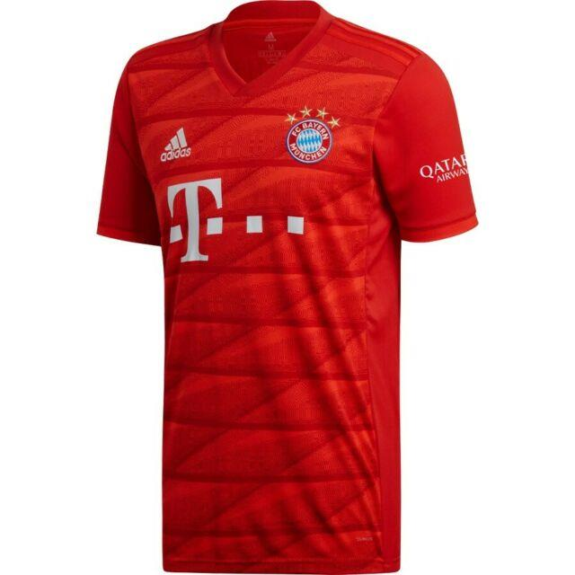 Fc Bayern Munchen Stadium Jersey Home 19-20 Bnwt Muller Lewandowski Coutinho