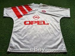 FC Bayern München Trikot L 1991 1992 Adidas Munich Football Shirt jersey Opel
