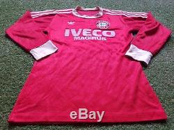FC Bayern München Trikot S 1983 Adidas Football Shirt Soccer jersey Munich Iveco