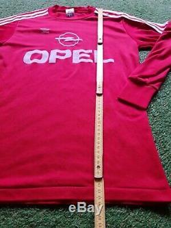 FC Bayern München Trikot S 1989 1990 Adidas Munich Football Shirt jersey Opel
