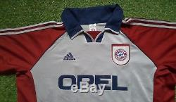 FC Bayern München Trikot XL 01/02 Adidas Shirt Jersey Munich Opel