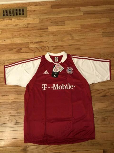 Fc Bayern Munchen Vintage 2003 Adidas Climalite Mens Jersey Nwt Size L