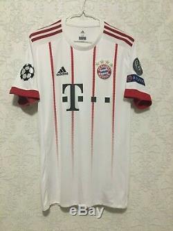 FC Bayern Munich #8 Javi Martínez 2017/18 UEFA CHAMPIONS LEAGUE JERSEY