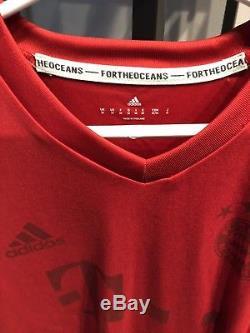 FC Bayern Munich Adidas Parley Special Edition Jersey Size Medium