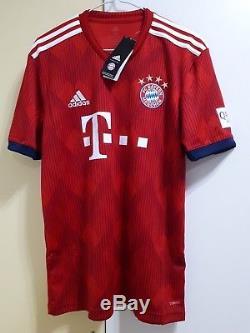 FC Bayern Munich Home Football Soccer Jersey 18/19, BNWT, Adidas Jersey