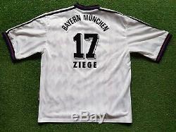 FC Bayern Munich Jersey XL 1995 1996 Adidas Shirt Munich Opel (17 Ziege) UEFA