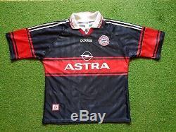 FC Bayern Munich Jersey XL 1997 1998 Adidas Football Shirt Munich Jersey Astra