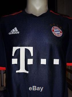 FC Bayern Munich Matchworn Jersey Adizero Size 8