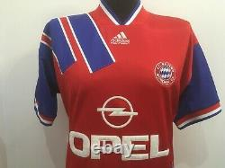 FC Bayern Munich München 1993/1995 Heim Trikot Shirt Adidas Jersey (M) camiseta