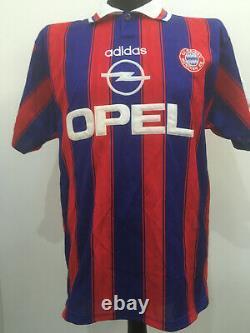 FC Bayern Munich München 1995/1997 #18 KLINSMANN Trikot Shirt Adidas Jersey (M)