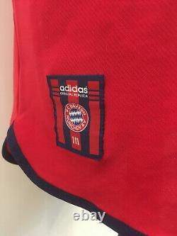 FC Bayern Munich München 1999/2001 #9 ELBER Trikot Shirt Adidas (XL) Jersey TOP