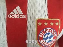 FC Bayern Munich München 2010/2011 #21 LAHM Heim Trikot Shirt Adidas Jersey (L)