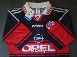 FC Bayern Munich Munchen Trikot Adidas Opel Retro Jersey 1997/1998/1999 Gr. M