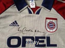 FC Bayern Munich München Trikot Jersey 1998/99 Beckenbauer Autogramm Autograph