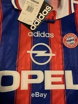 FC Bayern Munich Size Small Soccer Football Jersey Munchen Vintage Classic
