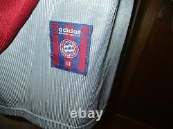 FC Bayern Munich adidas Champions League Final Jersey 1999 Vauxhall GR. XXL