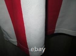 FC Bayern Munich adidas Long Sleeve Matchworn Jersey 2000-2002 Vauxhall +