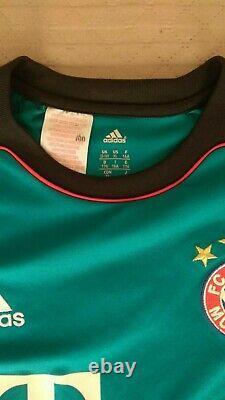 Fc Bayern Goalkeeper Munich Adidas Jersey size176. Neuer Football Kids Shirt 2013