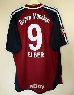Fc Bayern Munchen 2001\2002 Home Football Jersey Shirt Vintage Match Issue Worn