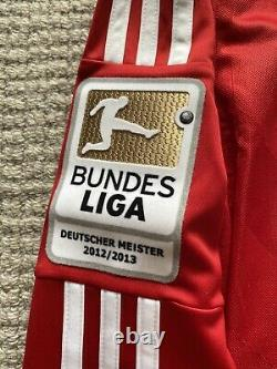 Fc Bayern Munchen Ls Muller Bnwt Size Small Bl Champs Patch
