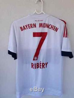 Fc Bayern Munchen Match Issue Adizero Jersey Shirt 2015-16 Ribery