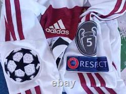 Fc Bayern Munchen Match Prepered Yersey Champions Liga 2014-15 Singnd Team-alaba