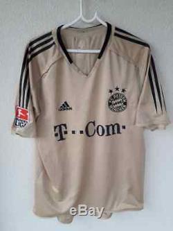 Fc Bayern Munchen Match Worn Prepered Jersey Makaay