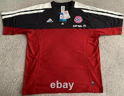 Fc Bayern München Munich Adidas Fcb 2000/2001 Training Jersey Shirt Mens Large